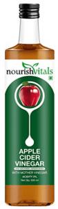 NourishVitals Apple Cider Vinegar with Mother