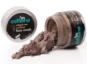 mcaffeine naked and raw coffee face mask