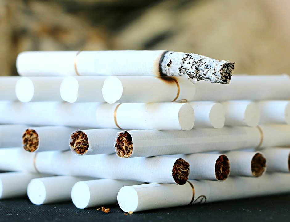say no to cigarette