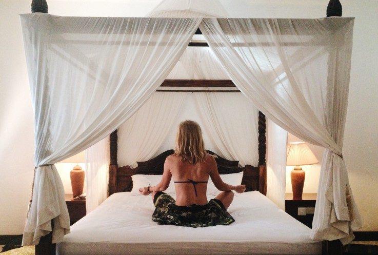 6 Bedtime Yoga Poses To Help You Sleep Better And Longer